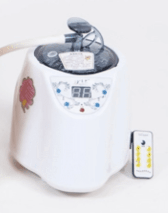 steam generator for sauna, vaginal steam seat, the red tent delray