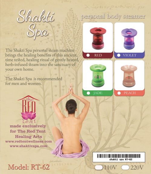 Shakti Spa Vaginal steam, personal body steamer