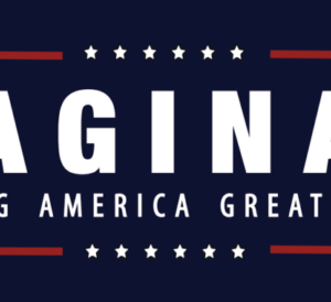 Vaginas Making America Great Again Bumper Sticker