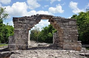 Arch at Ix Chel's Temple, Cozumel, Mexico (1)