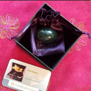 Jade Egg | Katie Kamala Sacred Yoni Ritual Set