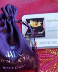 KKamala jade egg-card
