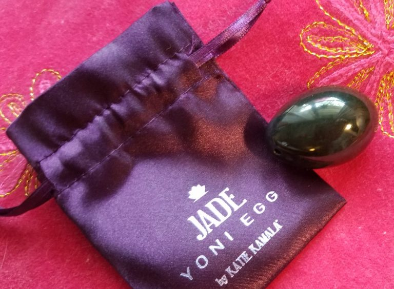 jade egg and pouch red tent apothecary
