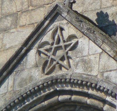 kights templar, rock rose symbol